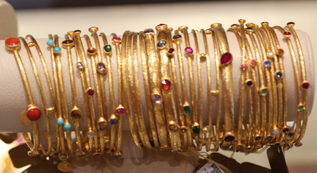 24k gold bangles Gurhan Couture 2011