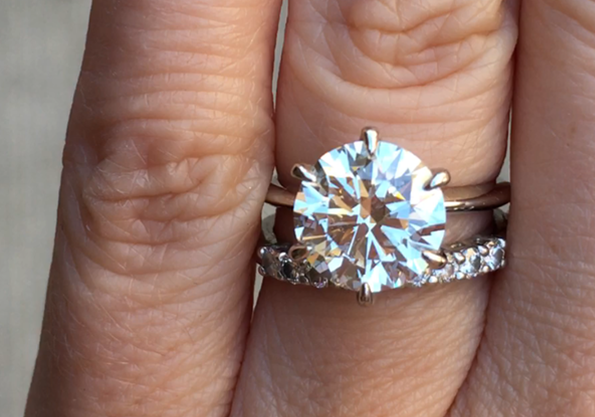 WF ACA Engagement Ring Upgrade for HappyNewLife