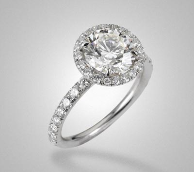 Harry Winston Inspired Engagement Ring