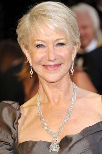 Helen Mirren at the 2011 Oscars