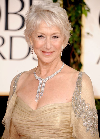 Helen Mirren 2011 Golden Globes