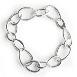 Hilary Druxman Sterling Silver Link Bracelet