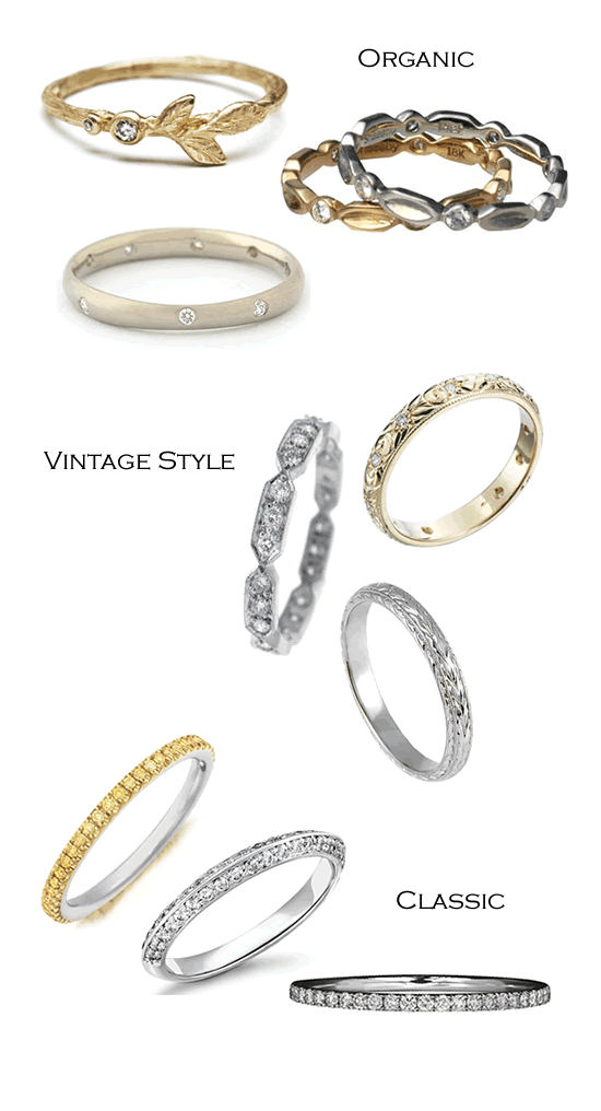 Holiday Jewelry Gift Guide - 9 Stackable Rings under $1,750