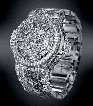 Hublot $5 million diamond watch
