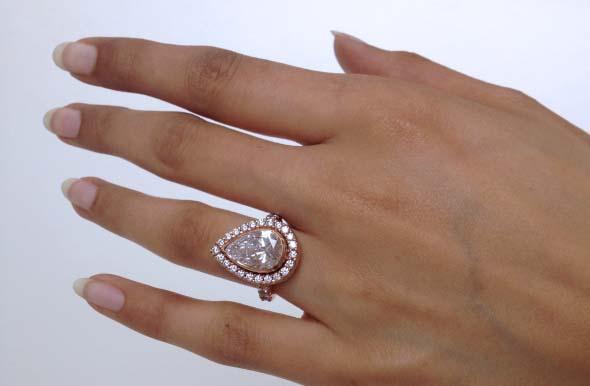 Jewel S Of The Week Pink Diamond Rings Anyone