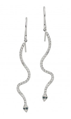 Lucky Snake Earrings • Ileana Makri