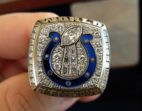 Indianapolis Colts Super Bowl Ring