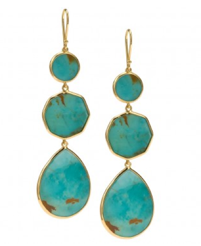 Ippolita Crazy 8s Earrings in Turquoise