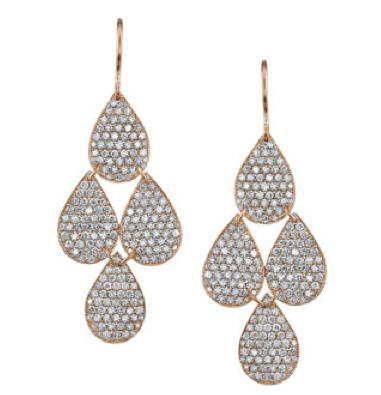 Irene Neuwirth Rose Cut Diamond Earrings