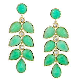 Irene Neuwirth Chrysoprase Earrings