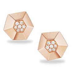 Jackson diamond stud earrings Mimi So
