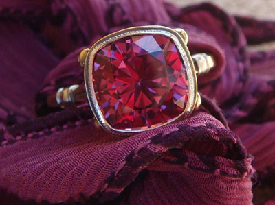 Jewel Of The Week James Meyer Garnet Ring Pricescope