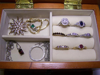 Organized Jewelry Box