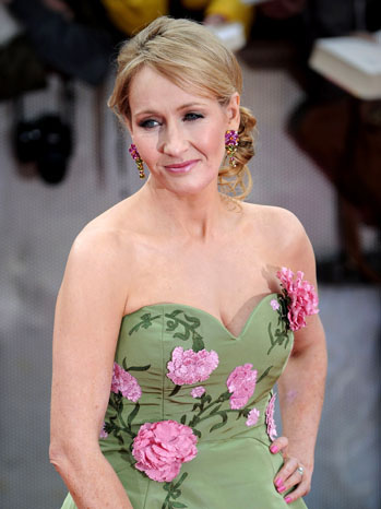 J.K. Rowling at the London premiere of Harry Potter and the Deathly Hallows: Part 2
