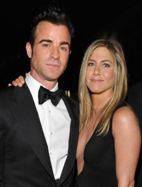 Jennifer Aniston and Justin Theroux: celebrity engagements 2012