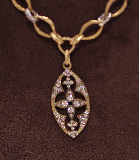 Kamofie diamond necklace Couture 2011