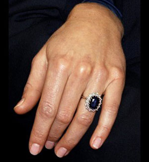 Prince William Kate Middleton Engagement Ring