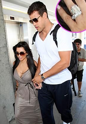 Kim Kardashian wedding rings