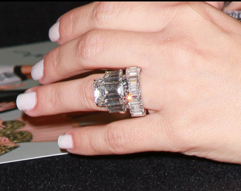 Kim Kardashian divorced 20.5 carat diamond engagement ring
