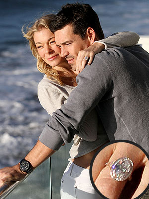 LeAnn Rimes and Eddie Cibrian Engagement Ring