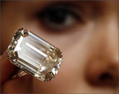 71.73 carats Lesotho One Diamond Ring