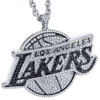 Lakers Diamond  Logo Pendant