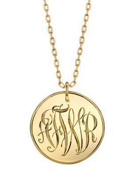 Mannin Monogram Necklace