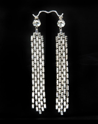 Marilyn Monroe's Rhinestone Earrings