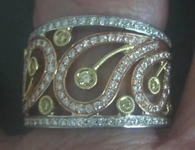 Matata's Incredible Simon G. Right Hand Ring