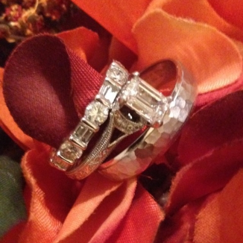 Matthews1127 Emerald Cut Diamond Engagement Ring