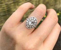 OO La La! Meely's Outstanding Engagement Ring