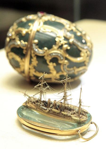 Memory of Azov Egg by Fabergé