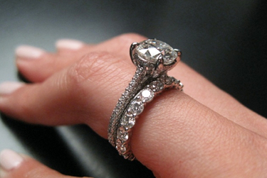 Jewel Of The Week Michael B Engagement Ring Pricescope