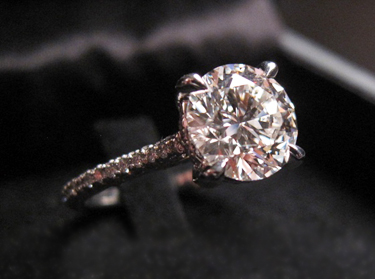 Michael B Paris Diamond Engagement Ring
