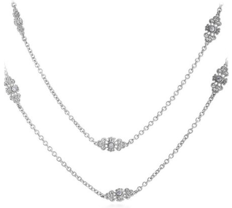 KC Designs 36-inch diamond station necklace at Michael C. Fina
