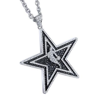 NBA 2011 All Star Diamond Pendant