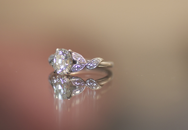 Custom Oval Diamond Ring by Steven Kirsch