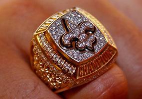 New Orleans Saints Super Bowl Ring