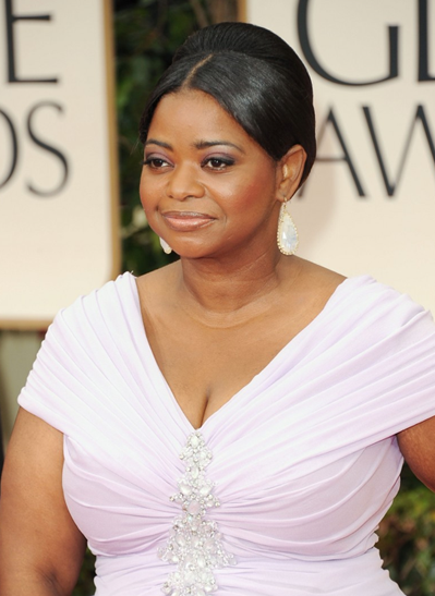Octavia Spencer 2012 Golden Globes