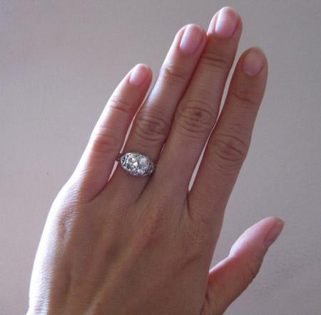 Jewel Of The Week Old European Cut Diamond Ring Pricescope