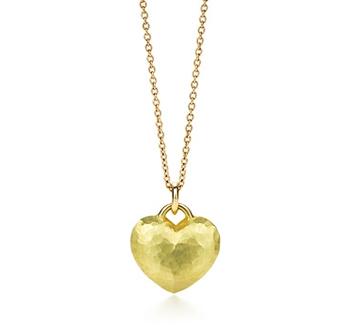 Tiffany Paloma Picasso Hammered Heart Pendant