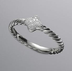 David Yurman Diamond Stack Ring