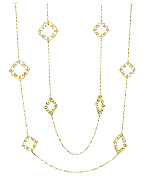 Penny Preville 34-inch Imperial Scroll station chain