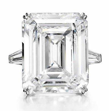 44 carat Perfect Diamond sold at Christie's New York for 7.4 million