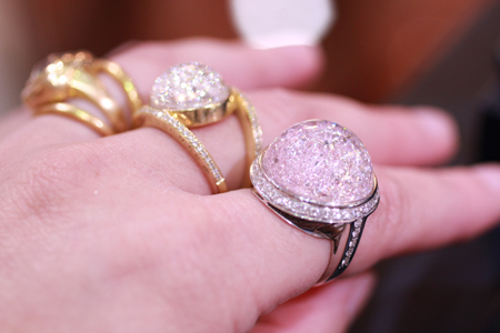 Rings from Royal Asscher's Stars of Africa Collection