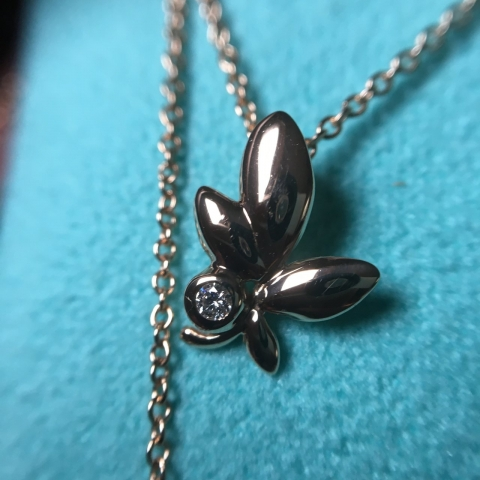 Tiffany Olive Leaf
