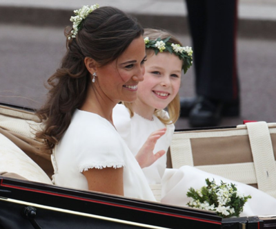 Pippa Middleton Royal Wedding Diamond Drop Earrings