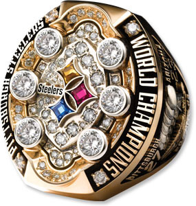 Pittsburgh Steelers Super Bowl Ring