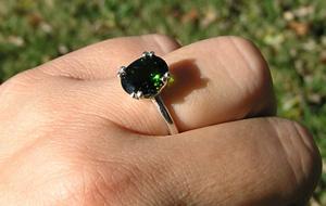 Bezel Diamond Pendant
