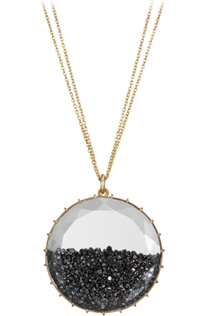 Renee Lewis • Black diamond Shake pendant